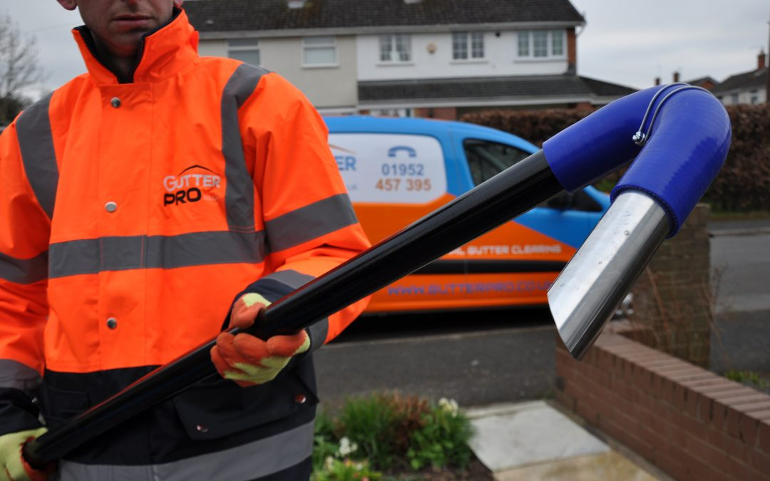 Busy January for Home Gutter Cleaning