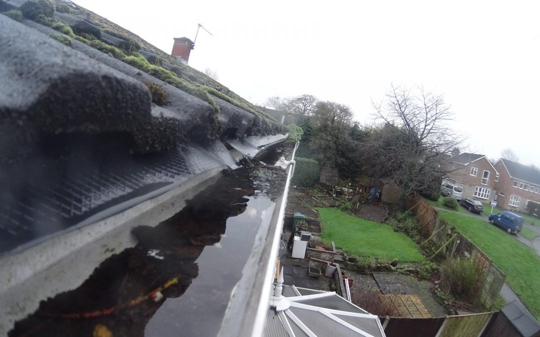 Would your insurance pay out for water damage as a result of a blocked gutter?