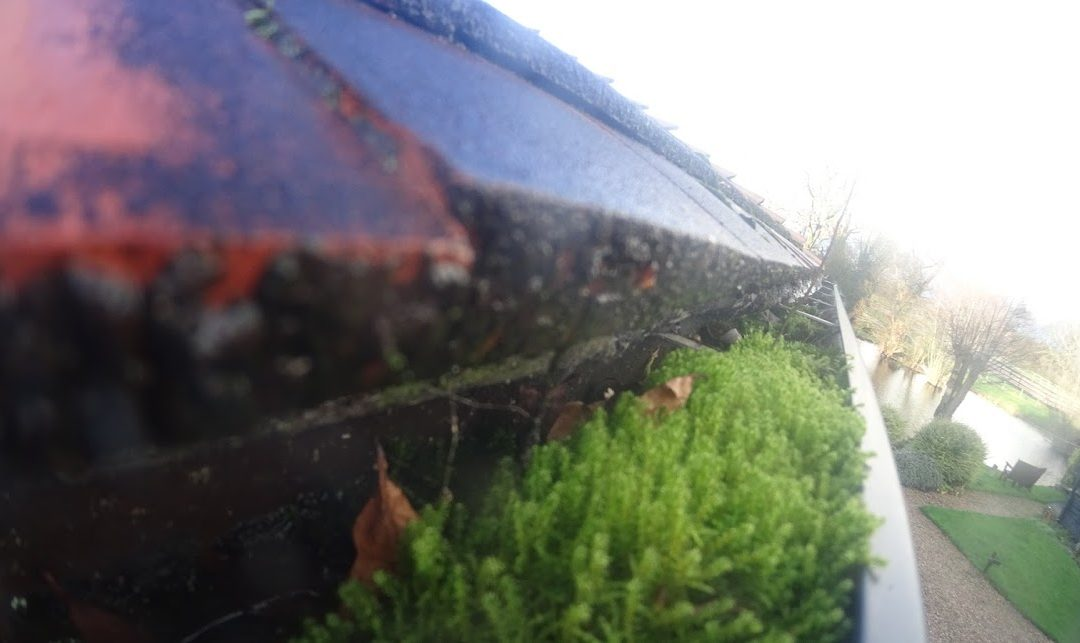 Why do gutters need cleaning AFTER a prolonged rain?