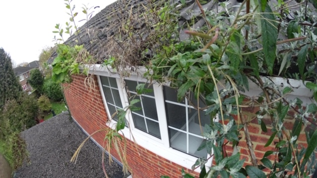 Gutter Cleaning in High Wycombe proves prevention is cheaper than cure