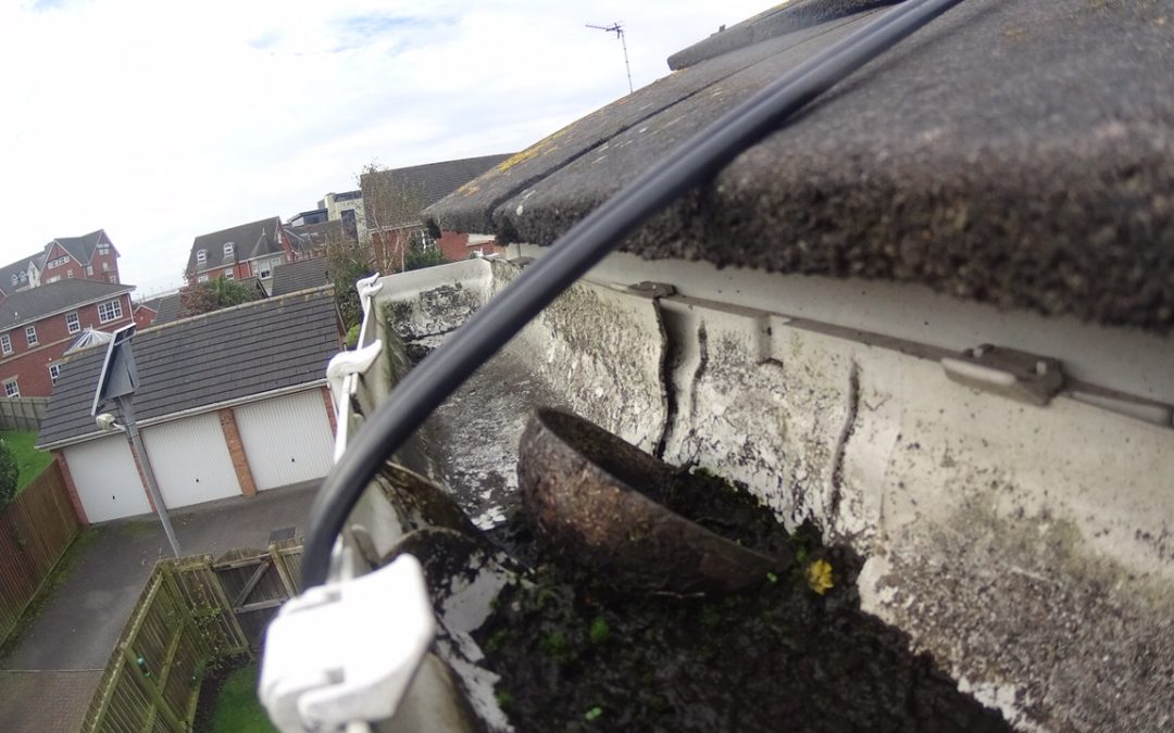 Gutter Cleaning in Leyland