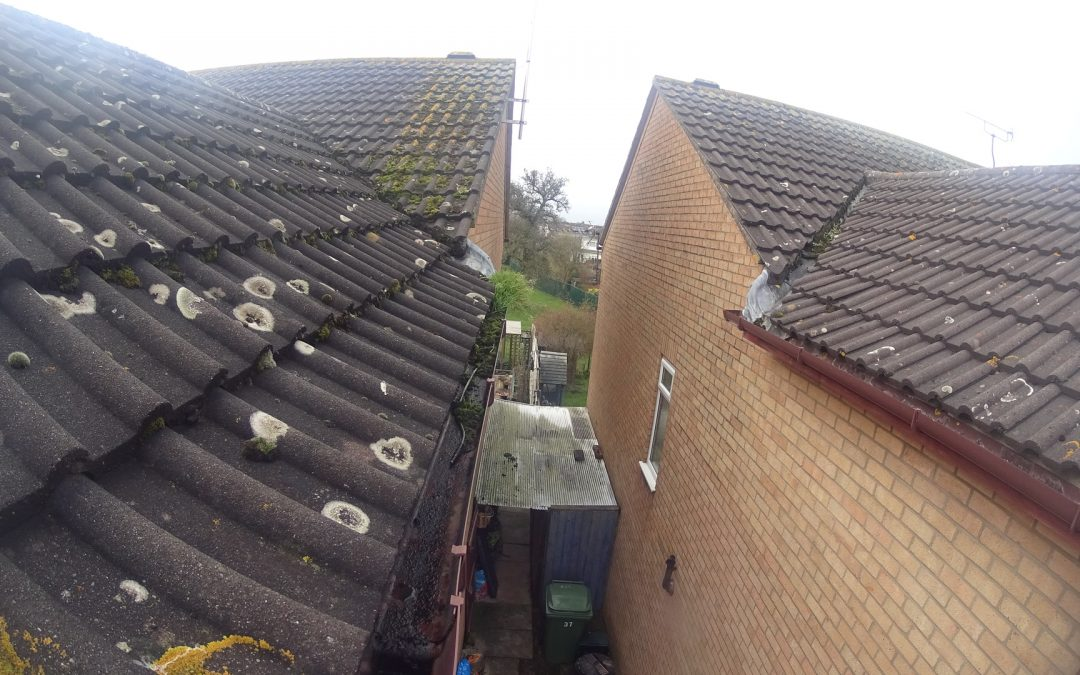 Gutter cleaning in Yate