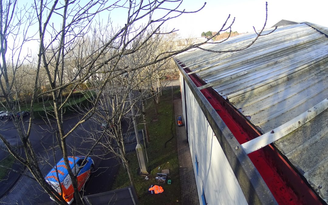Gutter cleaning in Weston Super Mare