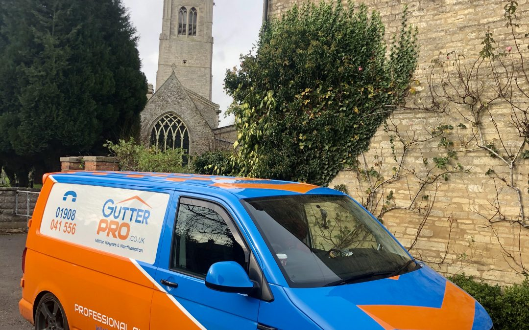 Gutter Cleaning in Hanslope