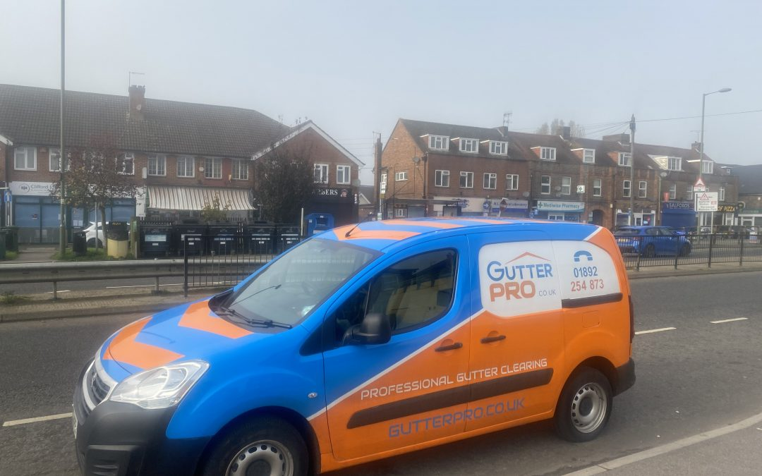 Gutter Cleaning Salfords