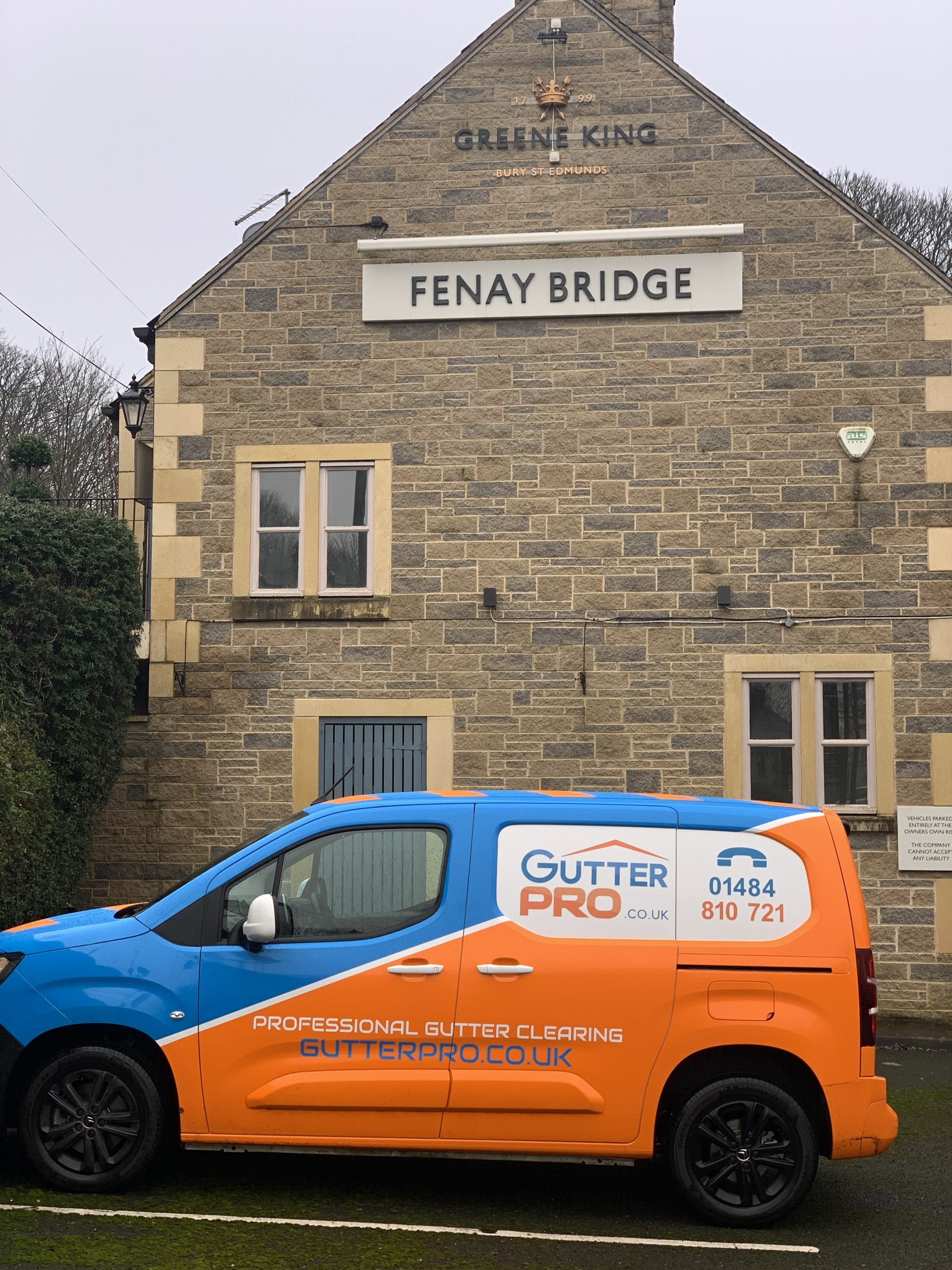 Gutter Cleaning Fenay Bridge