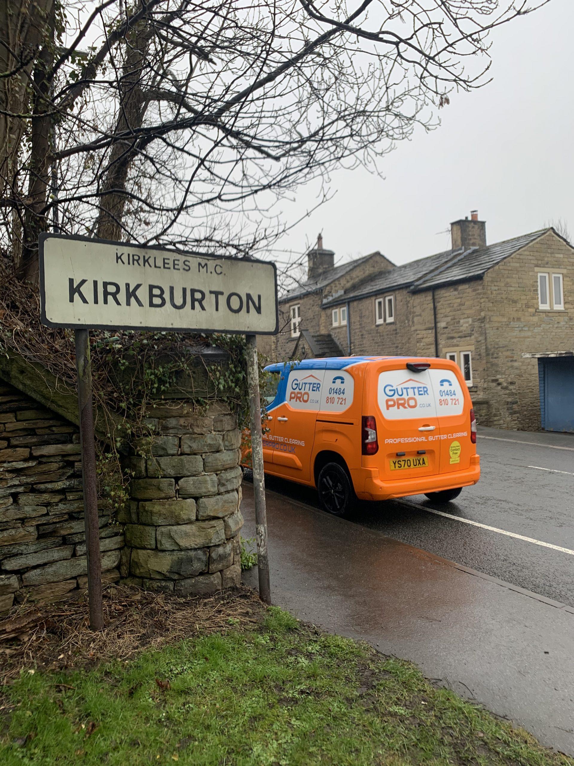 Gutter Cleaning Kirkburton