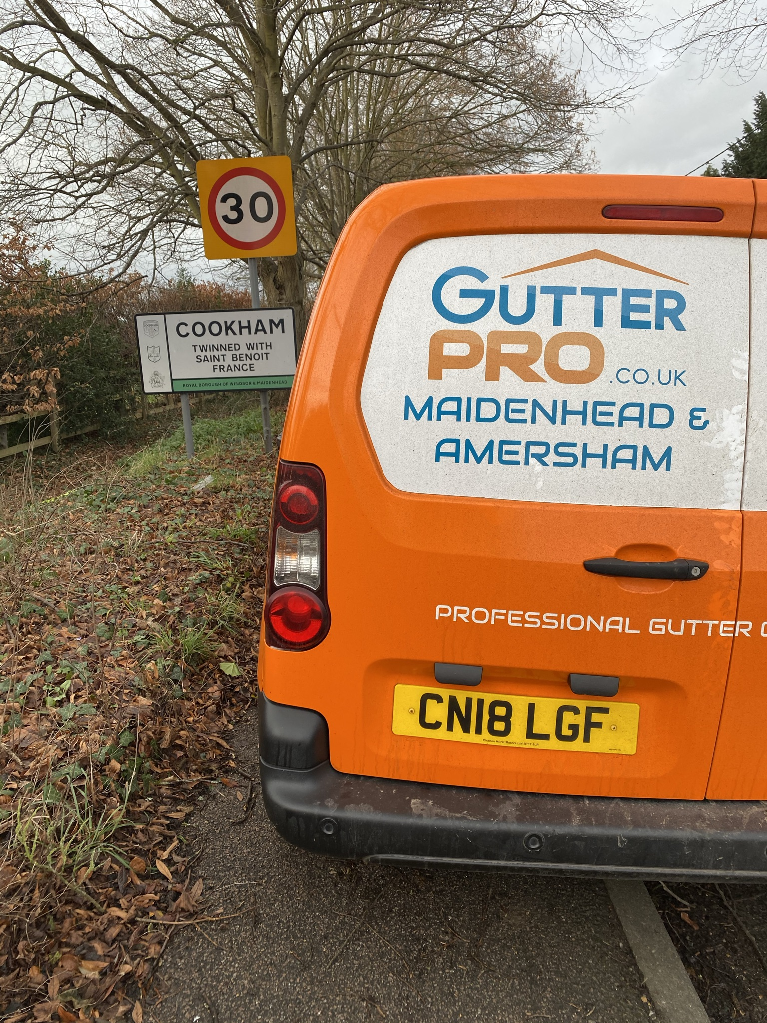 Gutter Cleaning Cookham
