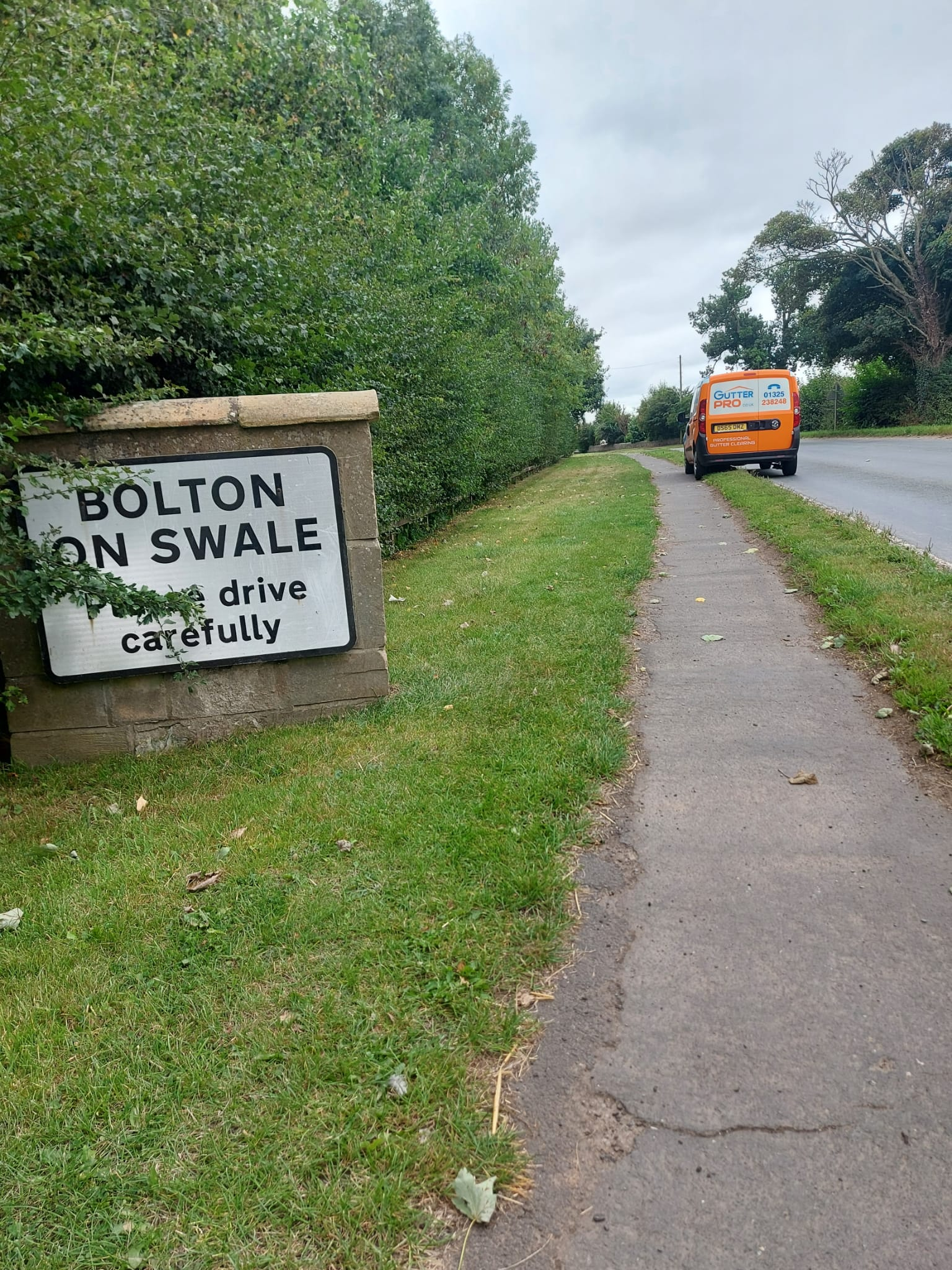 Gutter Cleaning Bolton-on-Swale