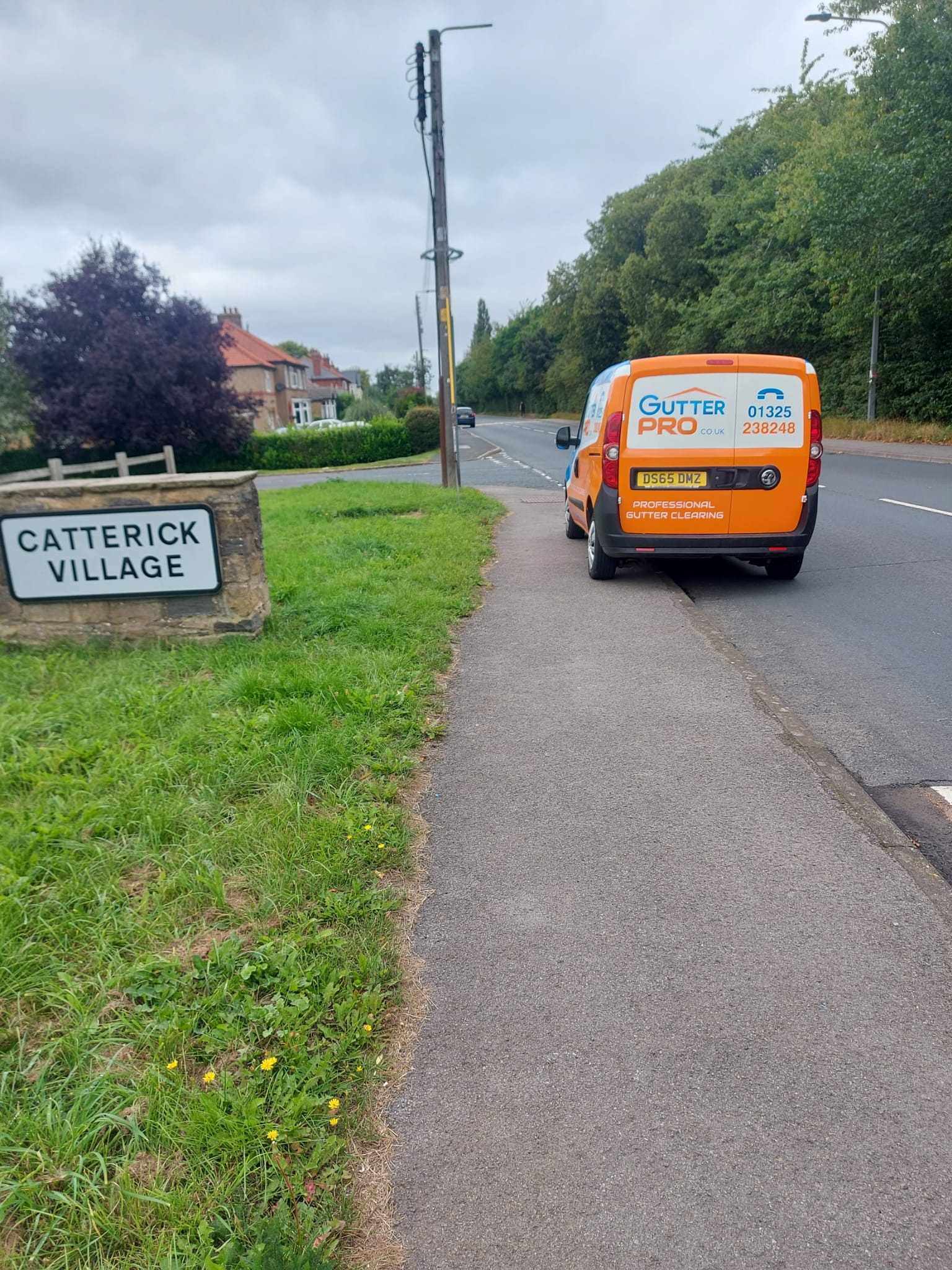 Gutter Cleaning Catterick